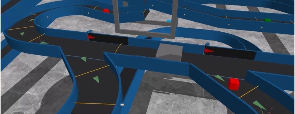 Baggage Handling System created in Emulate3D